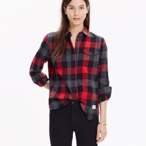Madewell x Penfield Flannel Shirt